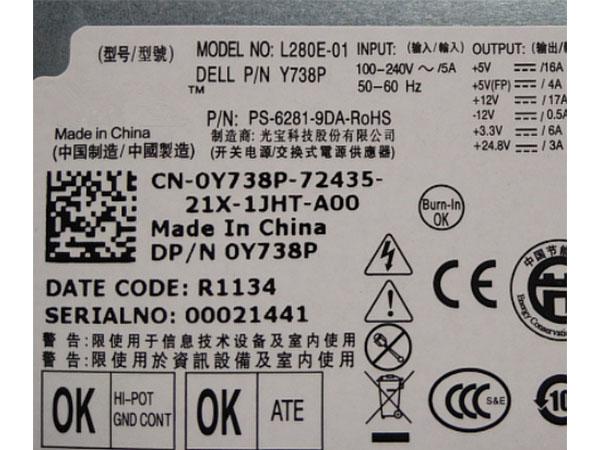 Dell KD98N L280E-01
