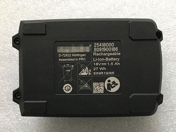Battery 25418000