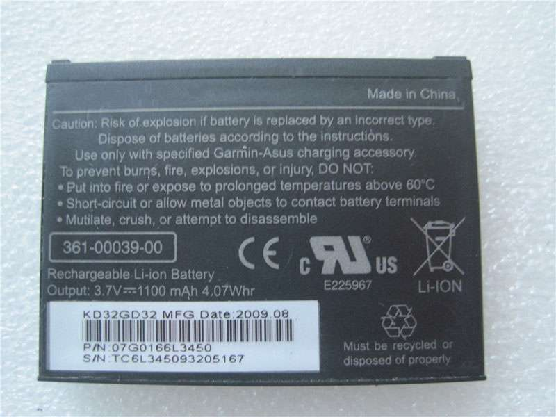 Battery 361-00039-00