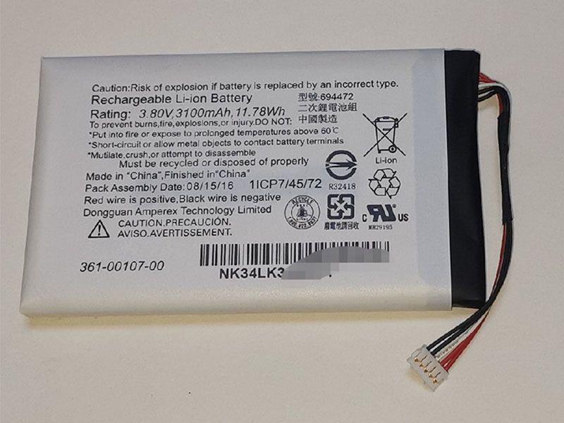 Battery 361-00107-00