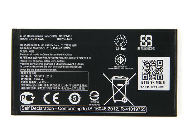 Battery B11P1415