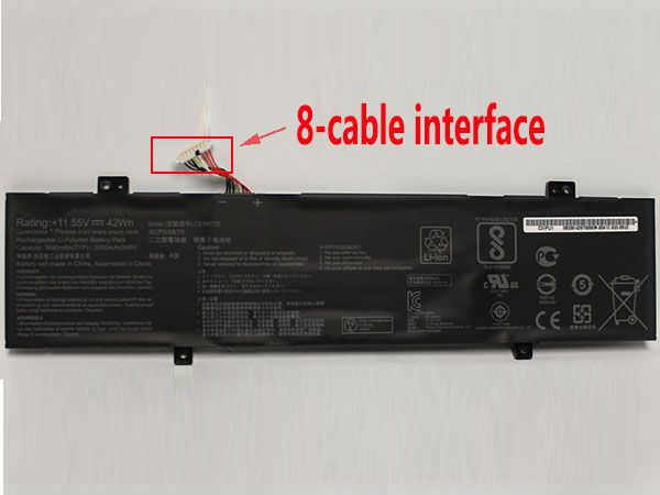 Battery C31N1733