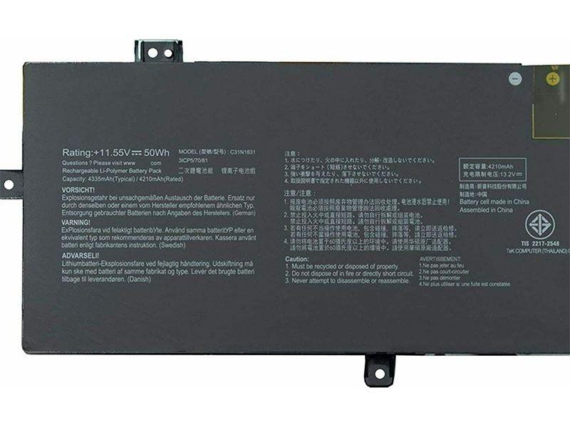Battery C31N1831