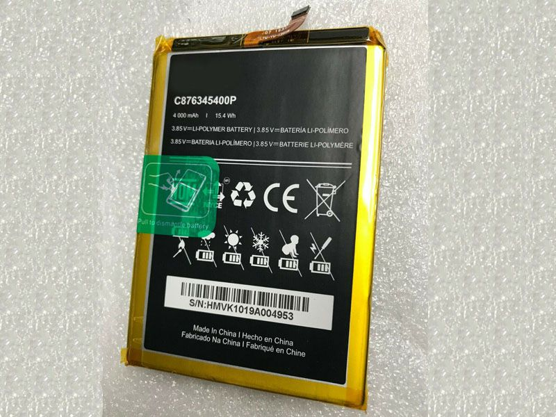 Battery C876345400P