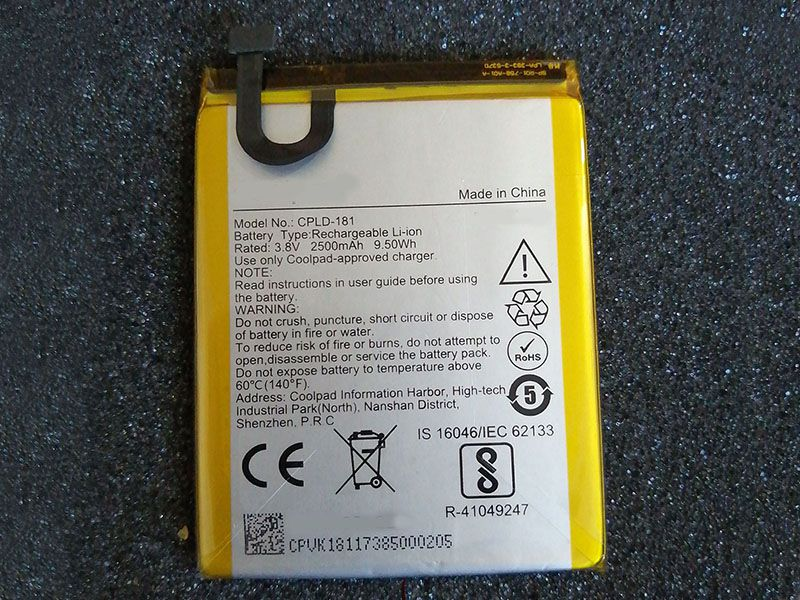 Battery CPLD-181