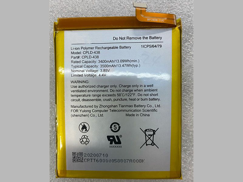 Battery CPLD-438