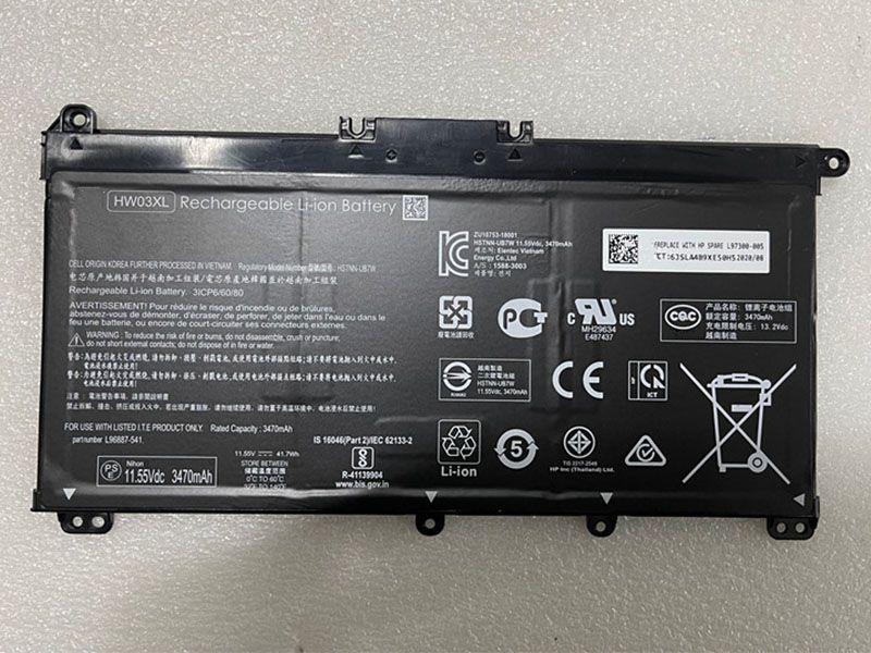 Battery HW03XL