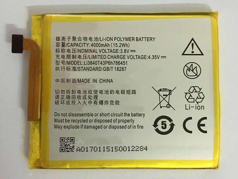 Battery Li3840T43P6h786451