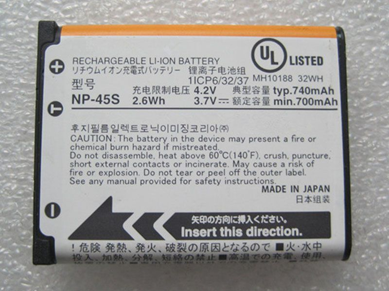 Battery NP-45S