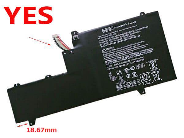 Battery 863167-1B1