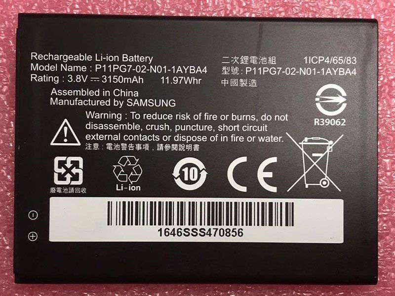 Battery P11PG7-02-N01-1AYBA4
