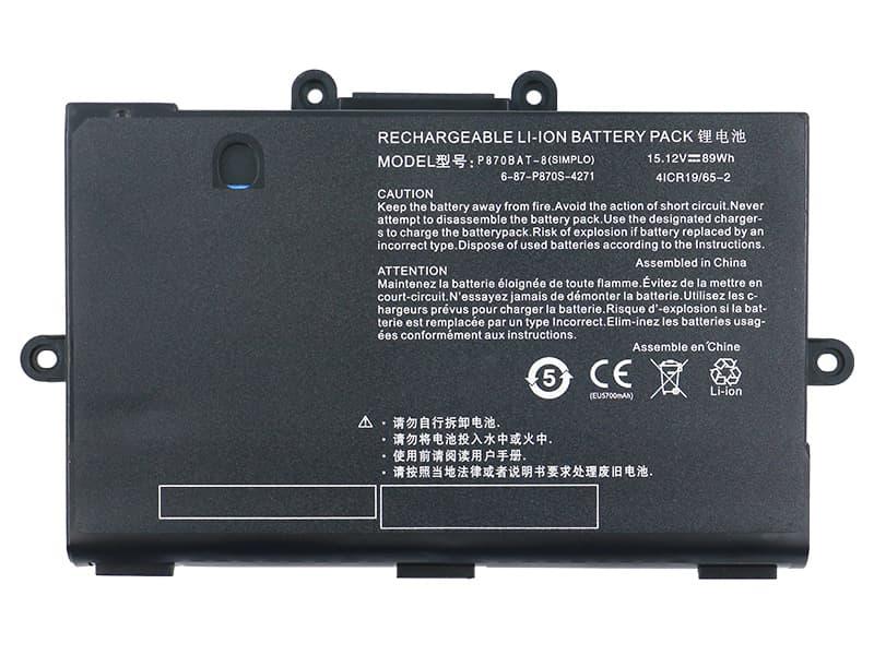 Battery P870BAT-8