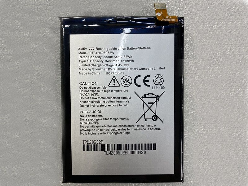 Battery PT34H406082W