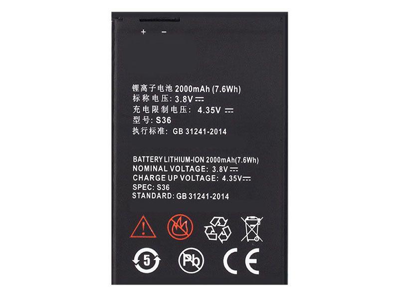 Battery S36