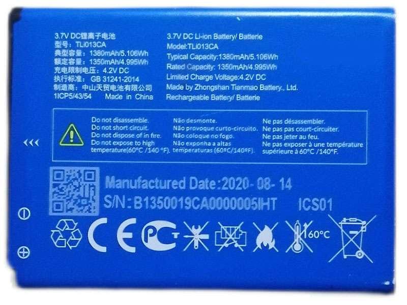 Battery TLI013CA