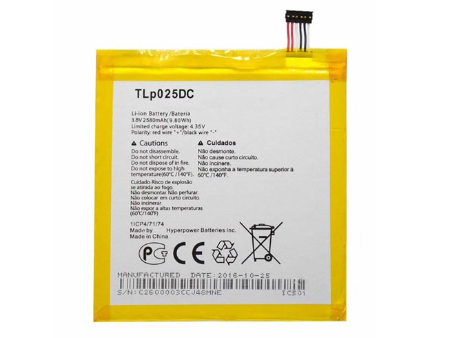 Battery TLP025DC
