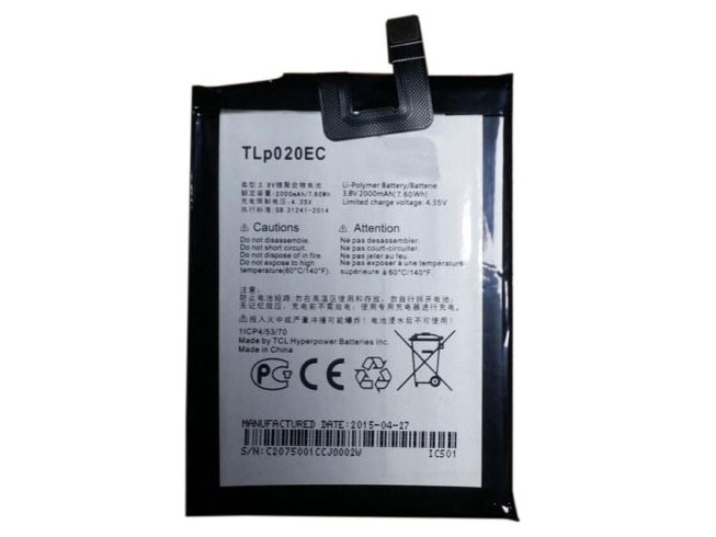 Battery TLp020EC