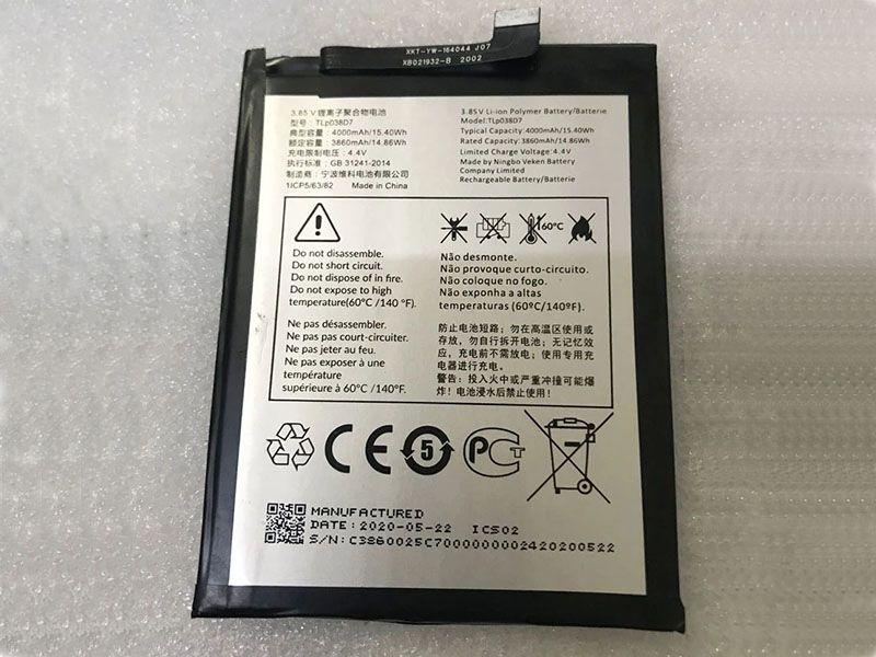 Battery TLp038D7