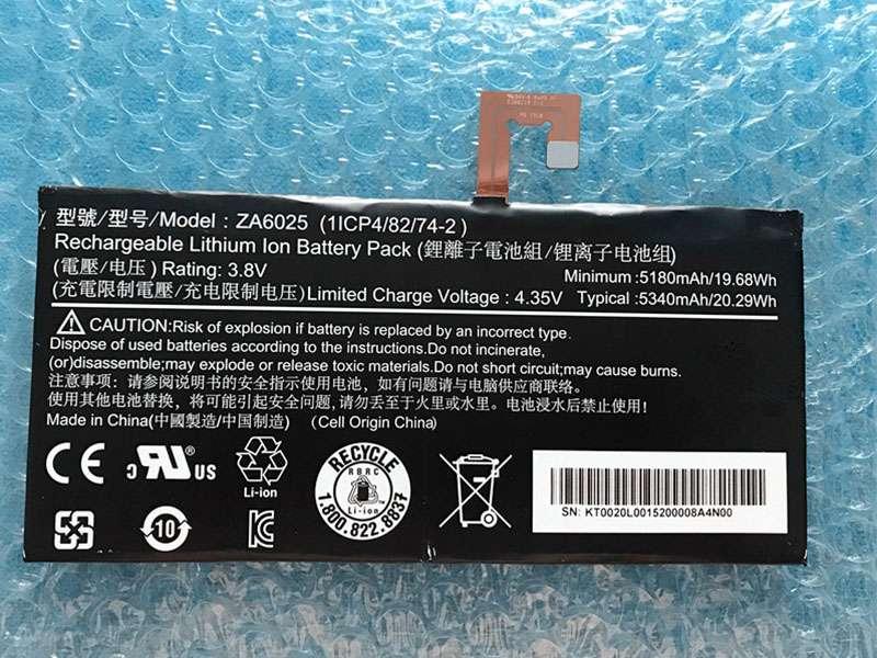 Battery ZA6025