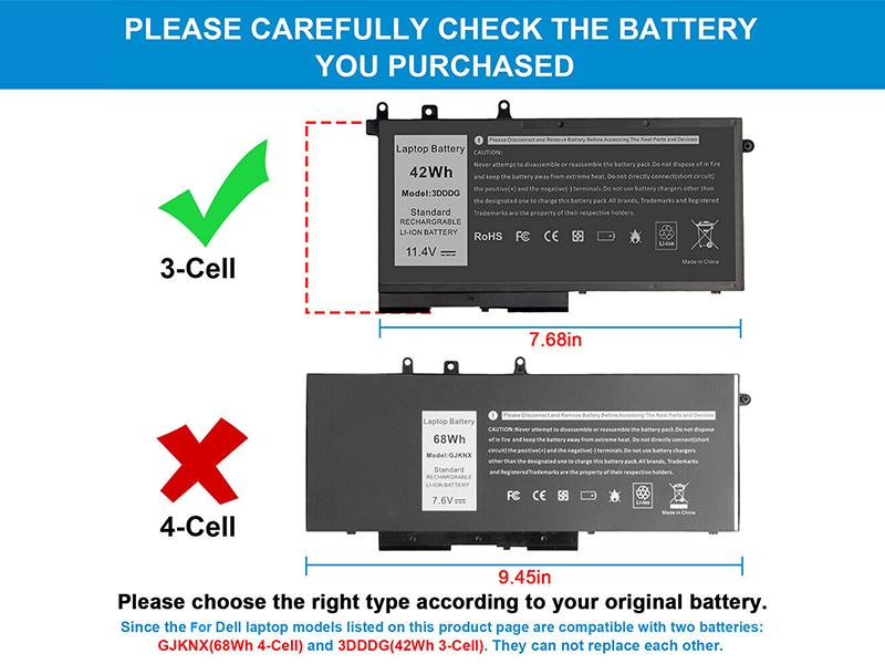 Battery 3DDDG