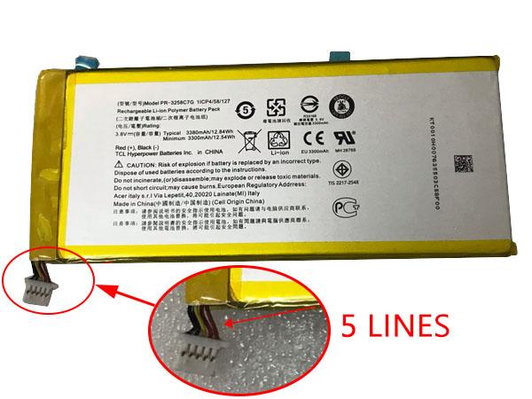 Battery PR-3258C7G