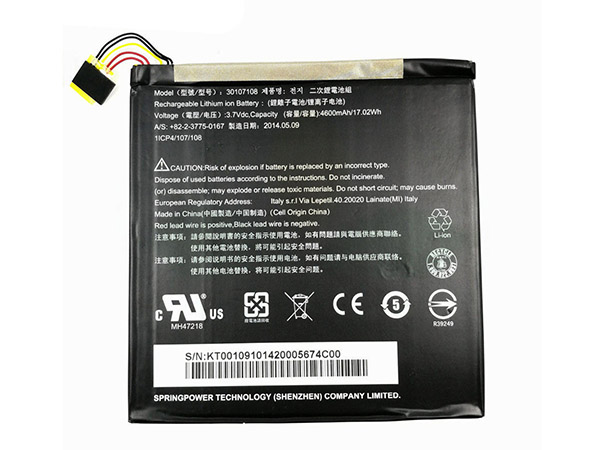 Battery 30107108