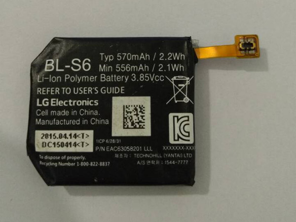 Battery BL-S6