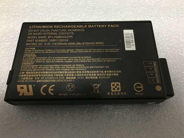 Battery BP-LP2900/33-01PI