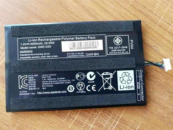 Battery GND-D20