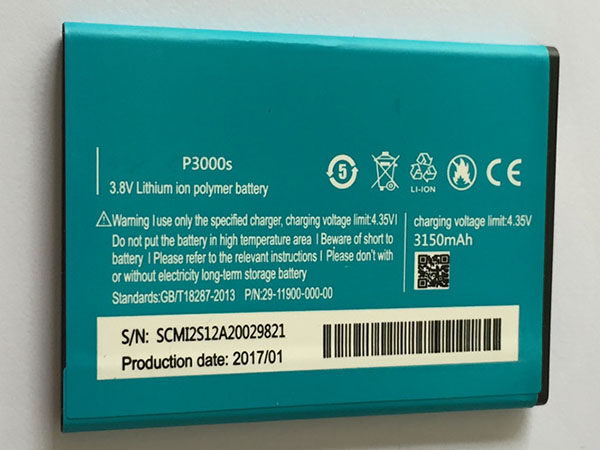 Battery P3000S