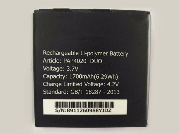 Battery Pap4020_Duo