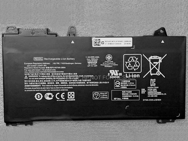 HP RE03XL HSTNN-DB9A HSTNN-UB7R